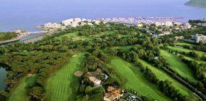 golf vue aérien